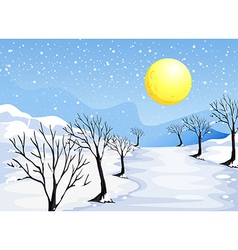 A winter season vector