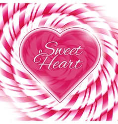 CANDY 03 heart vector image