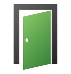 Door Gradient Icon vector