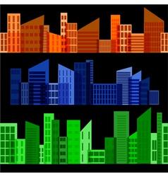 horizontal seamless texture vector image