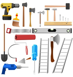 items for repair vector image