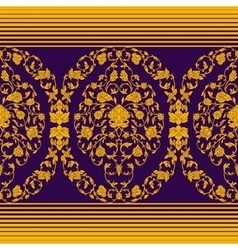 ornate seamless in Eastern style vector image