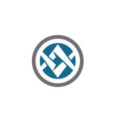 V letter logo business template icon vector