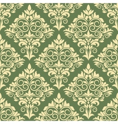 Gothic floral seamless pattern vector image vector image