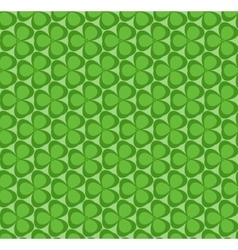 Green leaves seamless pattern vector image
