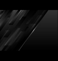 Abstract modern template black geometric diagonal vector