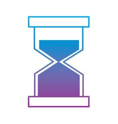 hourglass or sandglass icon image vector image