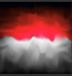 Indonesia abstract flag background for creative vector