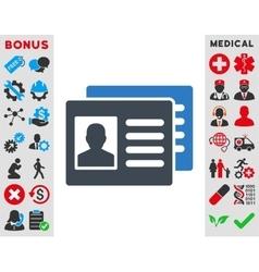 Patient Accounts Icon vector