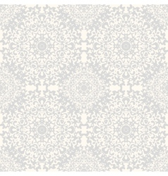 Seamless kaleidoscope lace pattern vector image