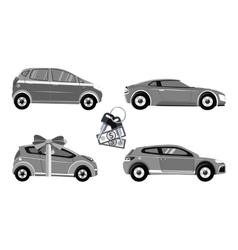 Set of Car Sale vector image