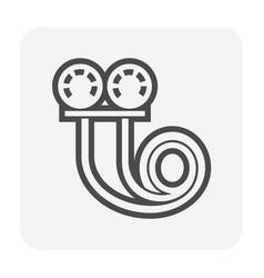 Vacuum gauge icon vector