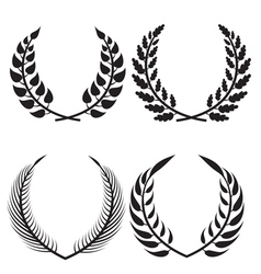 wreath pack vector image