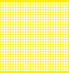 Yellow tablecloths patterns on the background vector