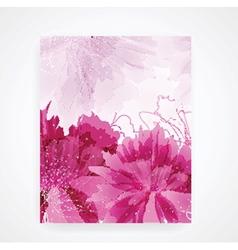 Peony flower vector image vector image