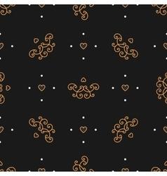 Trendy seamless pattern Art Deco style Elegant vector image vector image