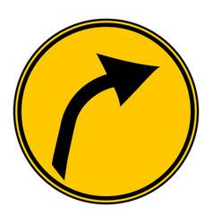arrow sign button vector image vector image