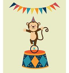 Monkey design vector image