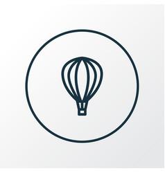 aerostat icon line symbol premium quality vector image