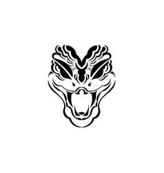 Cobra head for use as print poster sticker logo vector