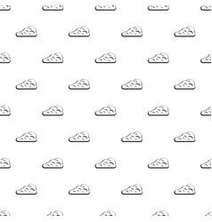 Cumulus cloud pattern vector