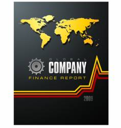 Global company report vector