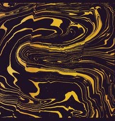 gold suminagashi abstract background vector image