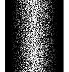 Gradient Dotted Background on Black Vertical vector image