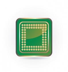 Green chip vector