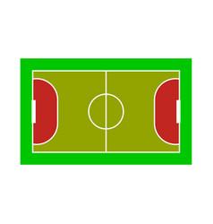 Isolated object stadium and football logo set vector