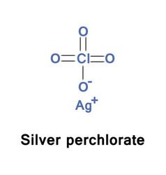 Silver perchlorate inorganic vector