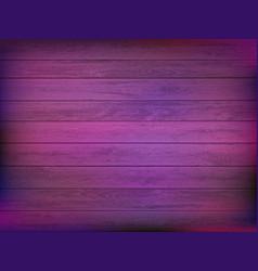 wooden plate in neon light vector image