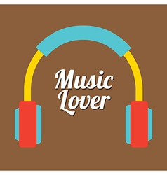 Music Lover vector image