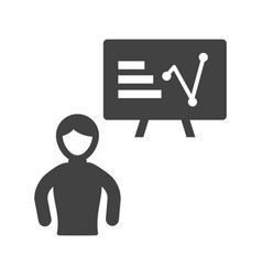 individual training vector image vector image