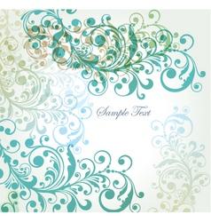 summer florals vector image