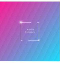Blue and pink geometric background with rhombus vector