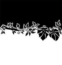 Floral background or decorative design vector
