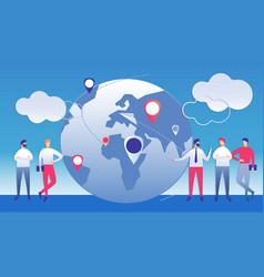 International management business vector