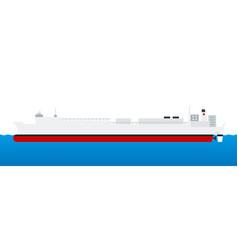 Marine sanitary vessel hospital ship vector