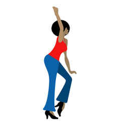 person dancing icon vector image