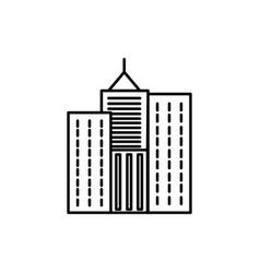 skylines icon vector image