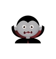 Vampire Facial Expression vector