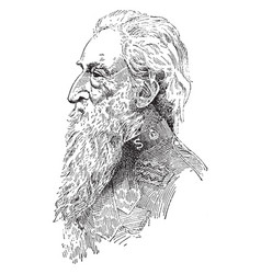 william booth vintage vector image