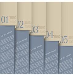 Grey design template vector image vector image