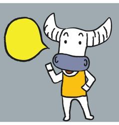 Buffalo Said vector image