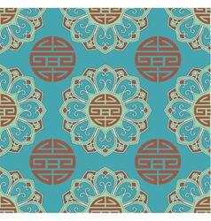 oriental seamless tile vector image