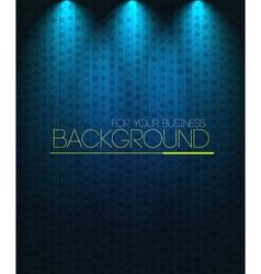 Spotlight background blue vector image vector image