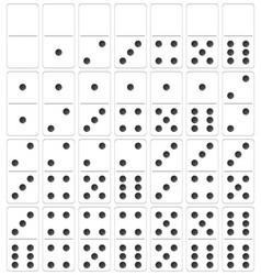 A set domino vector
