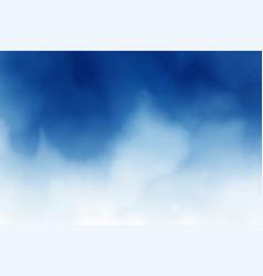 Dark blue watercolor splash background vector