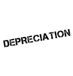 Depreciation rubber stamp vector